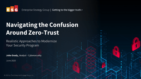 Navigating the Confusion Around Zero-Trust webcast