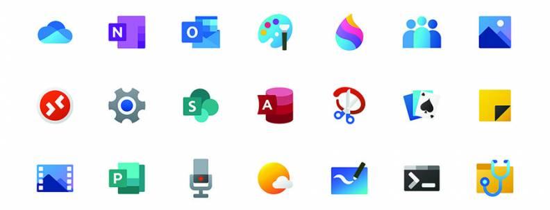 Microsoft icons