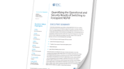 IDC: Quantifying the Operational and Security Results of Switching to Forcepoint NGFW