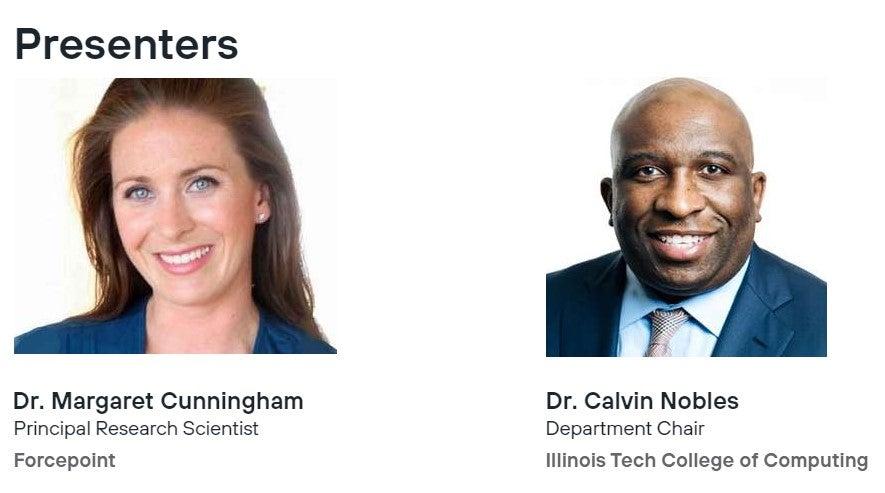Dr. Margaret Cunningham, Dr.Calvin Nobles